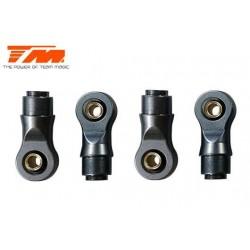 TM115036 Spare Part - E6 - Aluminium Ball Ends for 4mm Shafts (4)
