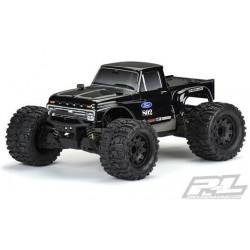 PL3412-18 Body - 1/10 Crawler - Tough-Color (Black) - 1966 Ford® F-100 - for Stampede®