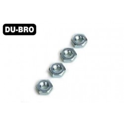 DUB564 Aircrafts Parts & Accessories - 10-32 Steel Hex Nuts (4 pcs per package)