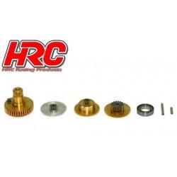HRC68110MG-A Pignons de servo - pour HRC68110 (MG, DMG)