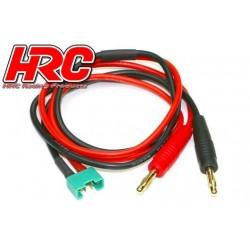 HRC9106 Câble de charge – doré - Prise Banane MPX