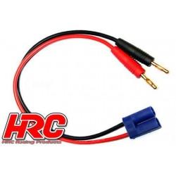 HRC9108 Câble de charge – doré - Prise Banane EC5