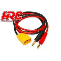 HRC9109 Câble de charge – doré - Prise Banane XT90
