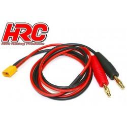 HRC9110 Câble de charge – doré - Prise Banane XT60