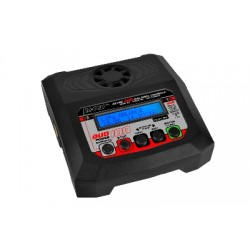 RC-CHA-213 RC Plus - Power Duo 100 Charger - AC 100W - DC 2X 100W - 2x 4S Lixx - 8 Nixx - 16V PB