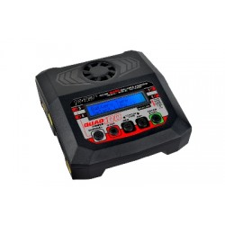 RC-CHA-214 RC Plus - Power Quad 100 Charger - AC 100W - DC 4x 100W - 4x 4S Lixx - 8 Nixx - 16V PB