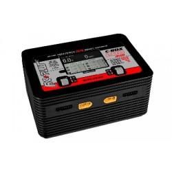 RC-CHA-217 RC Plus - C-Box 200 Duo Charger - AC 200W - DC 400W - 2x 6S Lixx - 15 Nixx - 20V PB