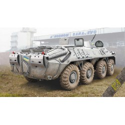 ACE72166 BTR-70 Soviet armored personnel carrier late prod. 1:72