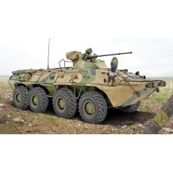 ACE72172 BTR-80A Soviet armored personnel carrie 1:72