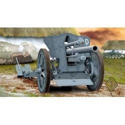 ACE72216 German le FH18 10,5 cm Field Howitzer 1:72