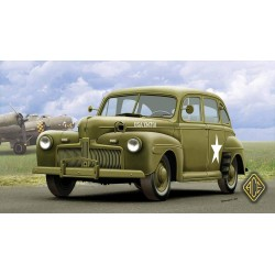 ACE72298 US Army Staff Car model 1942 1:72