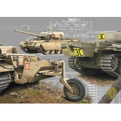 ACE72428 Centurion Mk.5LR/Mk.5/1 w/external fuel tanks 1:72