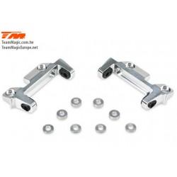 KF14201 Option Part - G4RS II - Aluminium 7075 Front Upper Hinge Pin Mount (1Pair w/Washer)