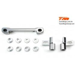 KF14202 Option Part - G4RS II - Aluminium 7075 Front Lower Hinge Pin Mount Set (w/Washer)