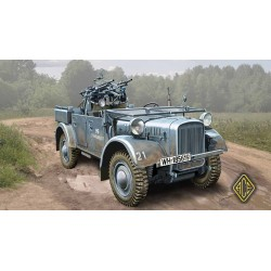 ACE72512 Kfz.4 WWII German AA motor vehicle 1:72