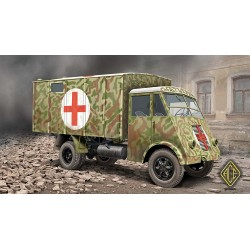ACE72524 AHN French 3,5t Medical van 1:72