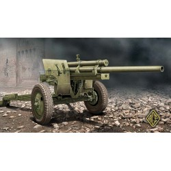 ACE72528 U.S. 3inch anti-tank gun M-5 on carriage 1:72