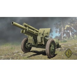 ACE72530 US 105mm howitzer M2A1 w/M2 gun carriage 1:72