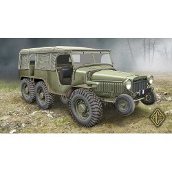 ACE72536 W-15T French WWII 6x6 artillery tractor 1:72