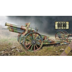 ACE72543 Cannon de 155 C m.1917 (wooden wheels) 1:72