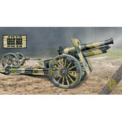 ACE72544 Cannon de 155 C m.1918 (wooden wheels) 1:72