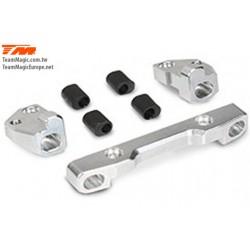 KF14212 Option Part - G4RS II - Aluminium 7075 Front Lower Hinge Pin Mount Set (w/Washer)
