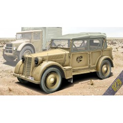 ACE72548 508 CM Coloniale Italien light car 1:72