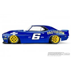 PL1562-40 Carrosserie - 1/10 Touring - 190mm - Transparente - 1969 Chevrolet Camaro Z28 VTA Class