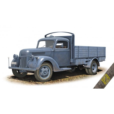 ACE72576 V-3000S 3t German cargo Truck (early flatbed) 1:72