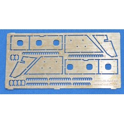 ACEPE7266 Photo-etched set for BTR-70 Add-on armor (for kits 72164 & 72166) 1:72