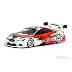 PL1568-25 Carrosserie - 1/10 Touring - 190mm - Transparente - Spec6 Lightweight