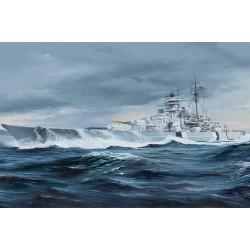 TRU05358 German Bismarck Battleship 1/350