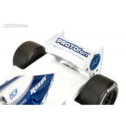PL1723-04 Aileron - 1/10 F1 - Protoform arrirère - Blanc