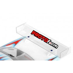 PL1724-17 Aileron - 1/10 Touring - Transparent - Elite-TC Pre-Cut 190mm