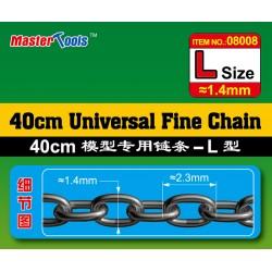 TRU08008 40cm Univ Fine Chain L Size 1.4x2.3