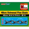 TRU08009 40cm Univ Fine Chain M Size 1.0x1.8