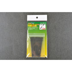 TRU08018 Disposable Mini Flat Brush (10)