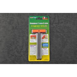 TRU09977 Stainless T Ruler S size
