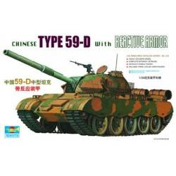 TRU00315 TRUMPETER Chin. 59D Reactive 1/35