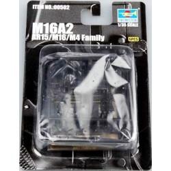 TRU00502 TRUMPETER MI16 A2 (6p.) 1/35