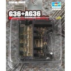 TRU00513 TRUMPETER AG 36 6 Guns 1/35