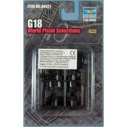 TRU00527 TRUMPETER G-18 World Pistol 1/35