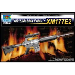 TRU01905 TRUMPETER XM177E2 SUBMACHINE GUN 1/3