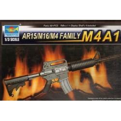 TRU01908 TRUMPETER SR-16 Rifle 1/3