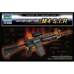 TRU01916 TRUMPETERAR15/M16/M4 Family M4 SIR 1/3