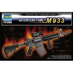 TRU01917 TRUMPETERAR15/M16/M4 Family M933 1/3