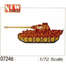 TRU07246 TRUMPETER Panther SS-Pz Wiking 1/72
