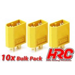 HRC9094B Connecteur - Gold - XT60 - mâle (10 pces)