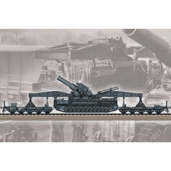 HBO82961 German Karl Geraet 040/041 Rail1/72