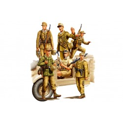 HBO84410 German Africa Corps 1/35